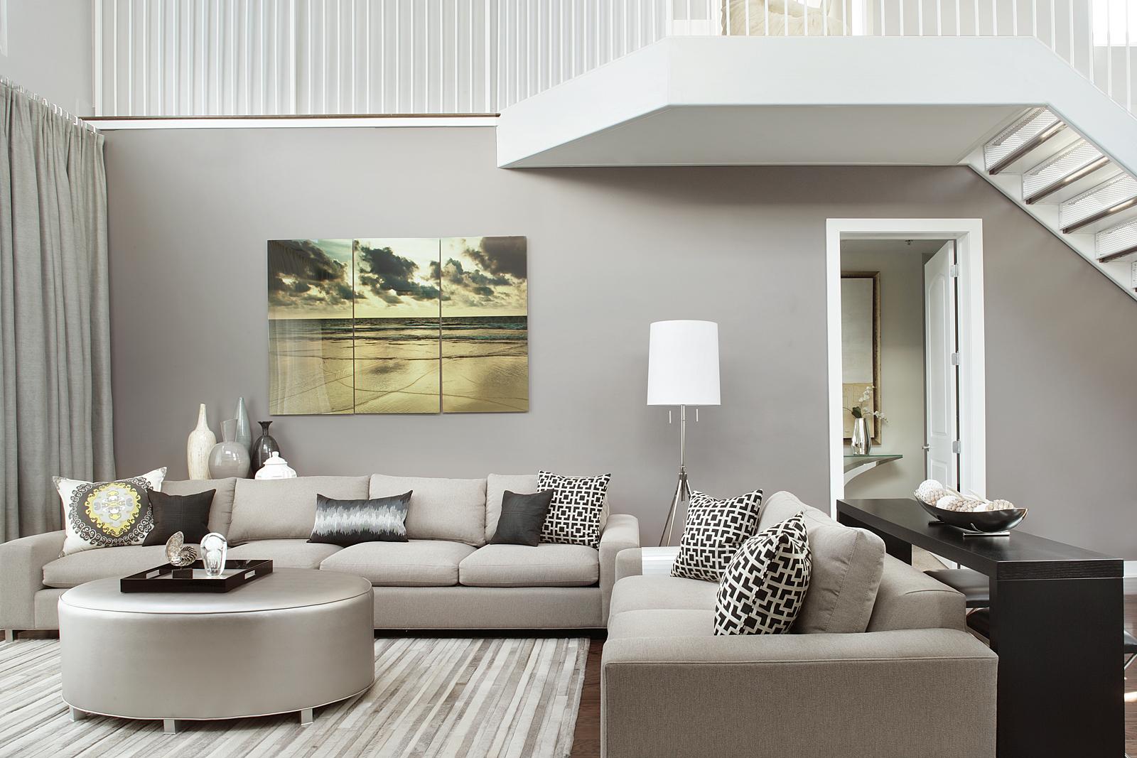 NJ Penthouse Apartment Interior Design