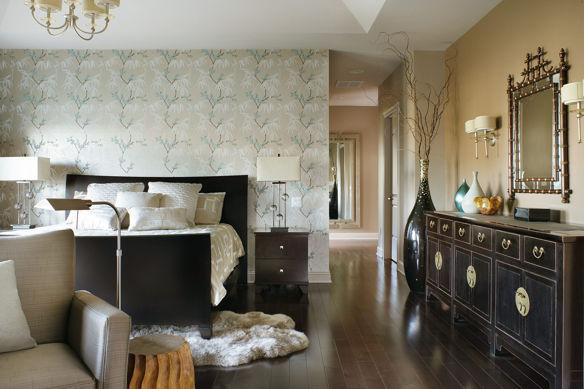 Master Bedroom Interior Design Project NJ